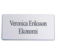 Name badge square