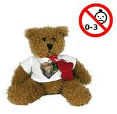 Björnen Hardy med hjärtan