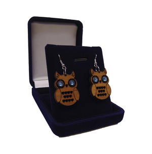Owl Earrings with strass