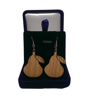 Pears earrings