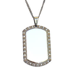 ID tag with strass