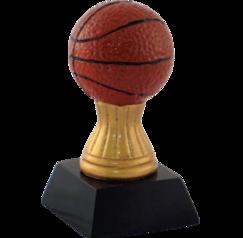 Basket Ball on a pillar