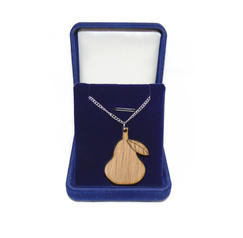 Pear necklace