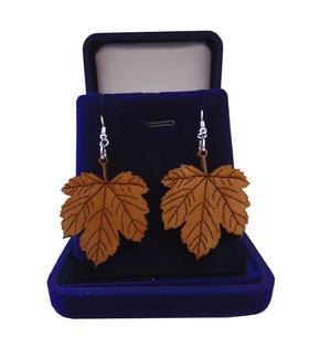 Mapel leafs earrings