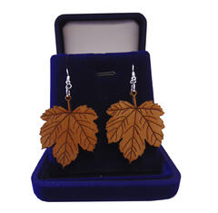 Mapel leafs earrings