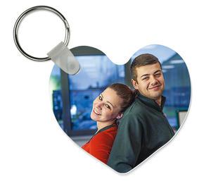 Key ring heart shaped