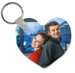 Key ring heart shaped