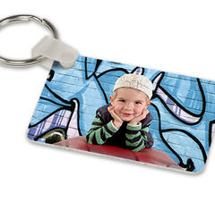 Key ring square shaped