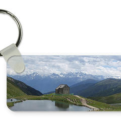 Key ring rectangular shaped