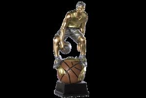 Basket man guld