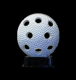 Floor ball on a base