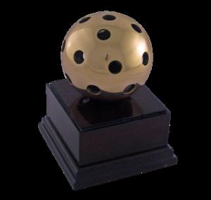 Ball of brass