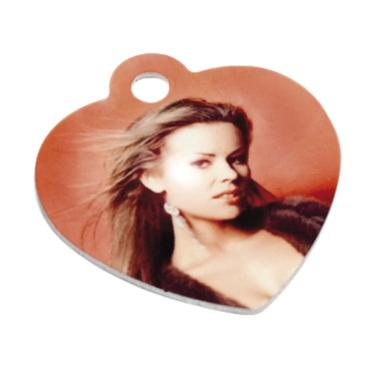 Heart pendant with a picture