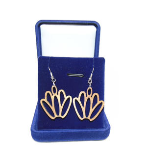 Earrings tulip
