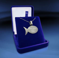 Fish in silver