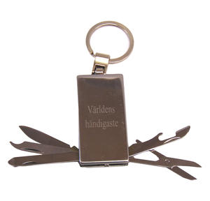 Key chain with tools